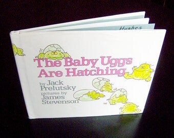 Vintage Children's Book - The Baby Uggs Are Hatching - 1982