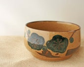 Vintage-Autumn Inspired Pottery/Stoneware Soup Bowl