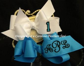 HAIR BOW BOUTIQUE Style Custom Made Team Spirit Hair Bows