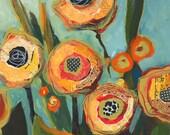 Yellow Flowers No2 Original Painting