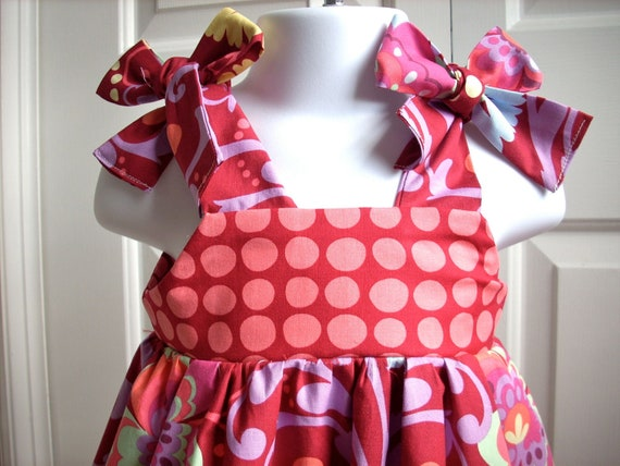 kids clothes baby dress girls dress childrens clothes baby girl knot dress