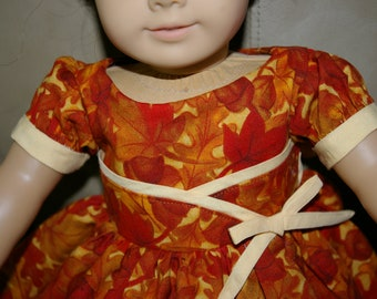 Autumn Dress Great for Ruthie or Kit.