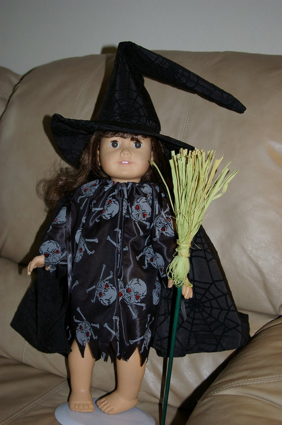 18 in doll witch costume