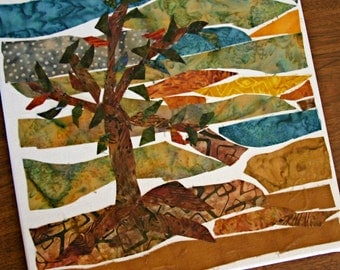 Tree Mosaic Wall Hanging