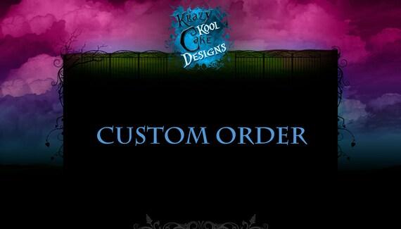 Custom Order For Etsy member NYQTTWIN (MALAIKA)