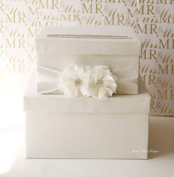 Lovely Wedding Card Box  Money Box Gift Card Holder - (Reserved)