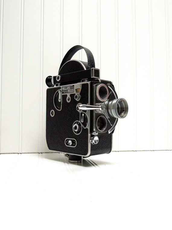 Vintage Camera Bolex H16 Reflex C Mount 16mm Film Camera