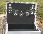 Ready To Ship Wedding Card Box  Wedding Card Book  Subway Card Box
