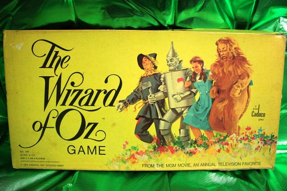 Vintage Wizard of Oz Board Game.