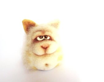 Felt doll - Handmade toys - Needle felting - Miniature - Felt toys - Figurines - Personalised gifts - Gifts for her - gifts for men