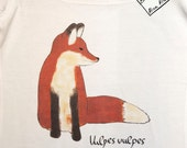 Fox Woman T-Shirt - Fox Clothing for Women