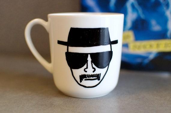 Breaking Bad Hand Painted Heisenberg Mug