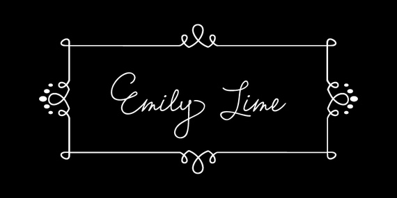 Emily Lime Font -  Pro Version