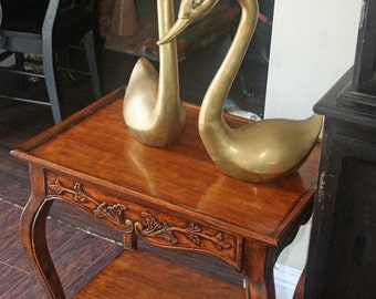 Vintage Chic Side Table Ready to Paint by Foo Foo La La