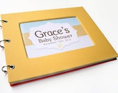Baby Shower Guest Book - Yellow Mellow