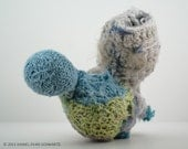 Punch - fiber sculpture - approx. 7 inches tall - 2012