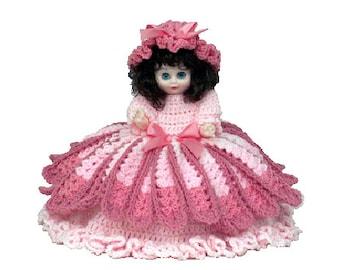 PDF Crochet Bed Doll - Crochet Pattern Cherise - (7319) PDF Pattern Td creations