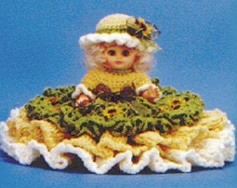 Crochet Bed Doll - Sarah - PDF Pattern (7036) Td creations