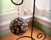 Rainbow Window Globe (Stained Glass)