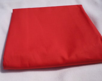 Coral Solid Color  Baby Toddler Bed Fitted Sheet