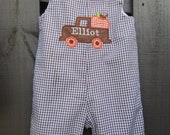 Boys Fall pumpkin longall FREE PERSONALIZATION