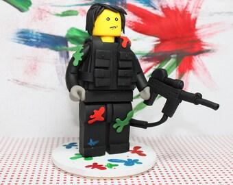 Lego Paint Ball Party - Custom Listing