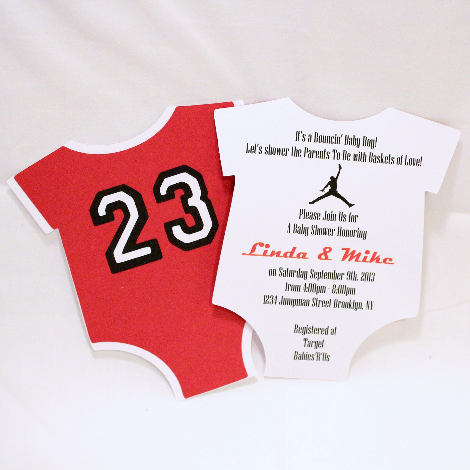 jordan jumpman inspired baby shower unique by lovinglymine on etsy