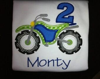 Birthday Dirt Bike Shirt