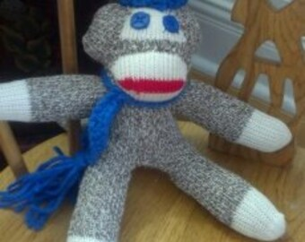 "Mini Sock Monkey ""Caelin"""
