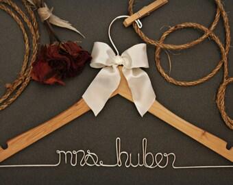 Bridesmaid Gift. Bridesmaid Gift Sets. Personalized Hanger.