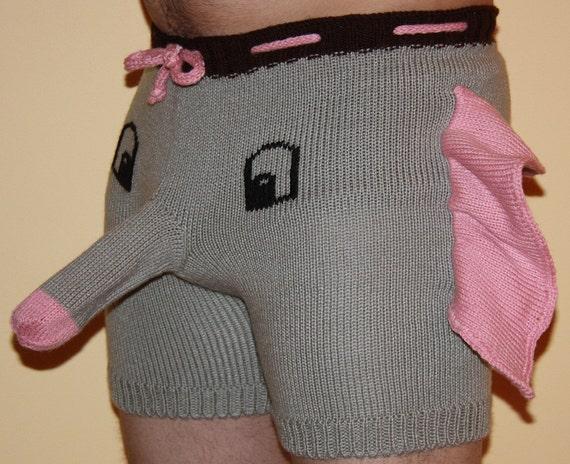 Free Knitting Pattern For Elephant Boxer Shorts : elephant boxers Gallery