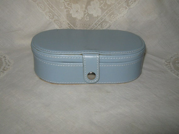 Travel Jewelry Case Blue