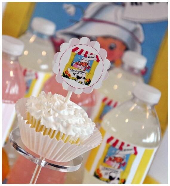 Lemonade Labels - Printable -GLAMOROUS SWEET EVENTS