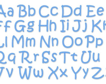 """Instant Download - Embroidery Font 211 - Sizes 1"""",2"""",3"""" - Machine Embroidery Font"""