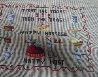 Sears Designer Tapestry Wool Needlepoint