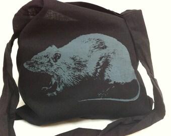 Ratbag, 100% cotton tote bag