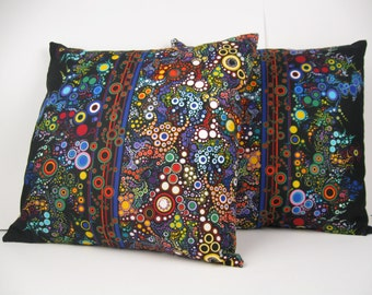 Amelia Caruso Effervescence  pillow cover - multiple sizes and colorways
