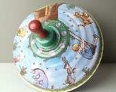 Large Winnie the Pooh Metal Spinning Top Toy