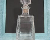 Vintage Glass Decanter  Item Has Been Reduced by 20%