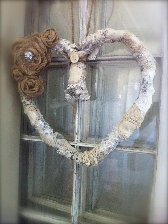 I LOVE U Wreath
