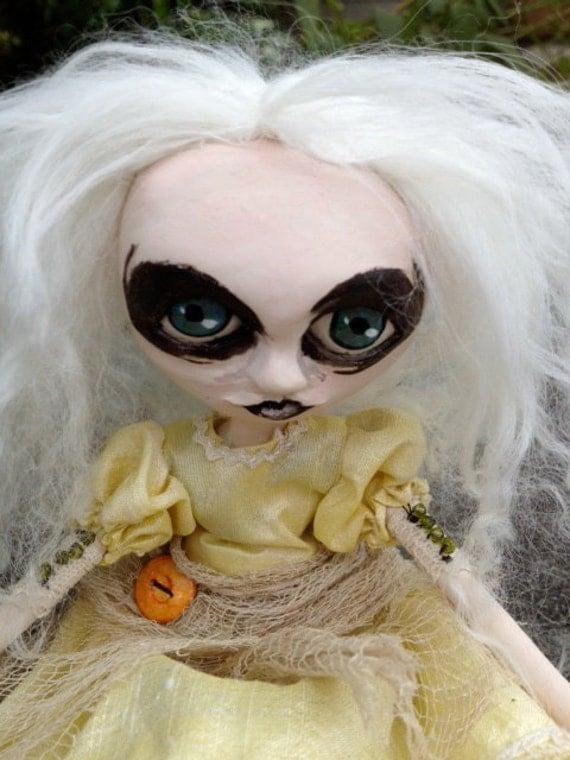 Goth Art Doll OOAK Louisa