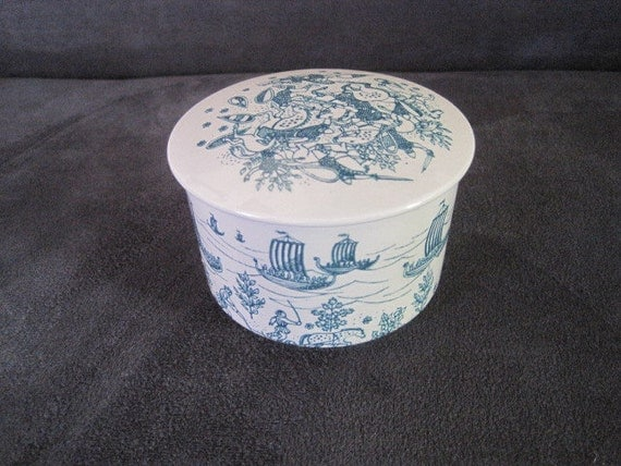 Limited Edition Nymolle Art Lidded Dish