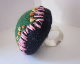 Finger Pincushion Wool Felt