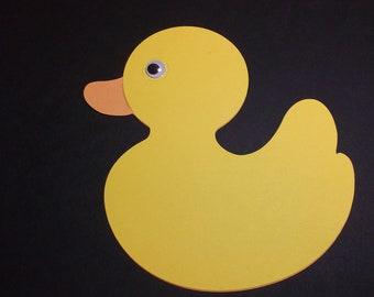 Rubber Duck Die Cuts