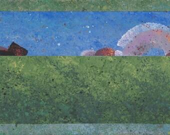"""Landscape A 17.5""""x6"""""""