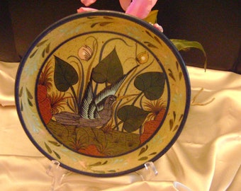 SALE was 30. Artist hand painted Mexican plate.