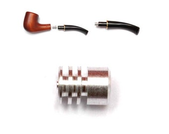 New Tobacco Pipe Filter 9 mm Metal Cool-Filter for Smoking Pipe/Pipes  fits 9 mm