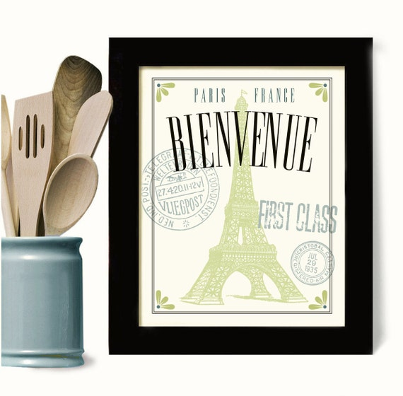 French Decor Kitchen Wall Art For Kitchen Art Decor Cooking