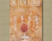 The Fifth Element - 11 x 17 Fan art Alternative Movie Poster