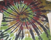 Tie Dyed T-Shirt - Camouflage Spiral - Adult XL
